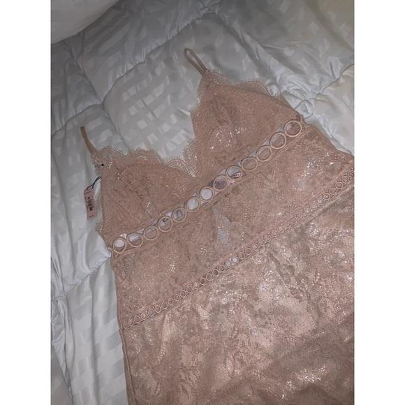 Victoria's Secret Other - Victoria Secret Sexy Rose Gold Night Gown